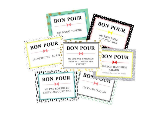 Une id e cadeau facile et rapide pour la saint valentin printable gratuit my little happy - Bon pour a imprimer gratuit ...