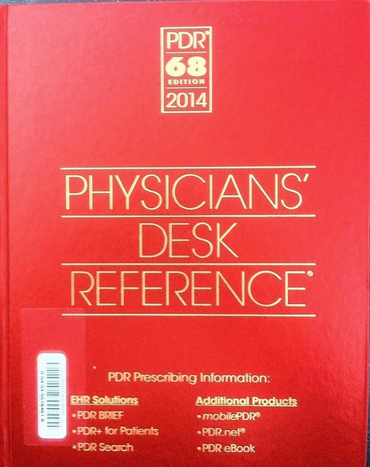 physicians desk reference 2014 pdf