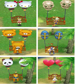 Tales of Pirates Swings