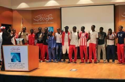 SUBHANALLAH Satu Pasukan Pemain Muda Bola Sepak Cameroon Memeluk Islam di UAE