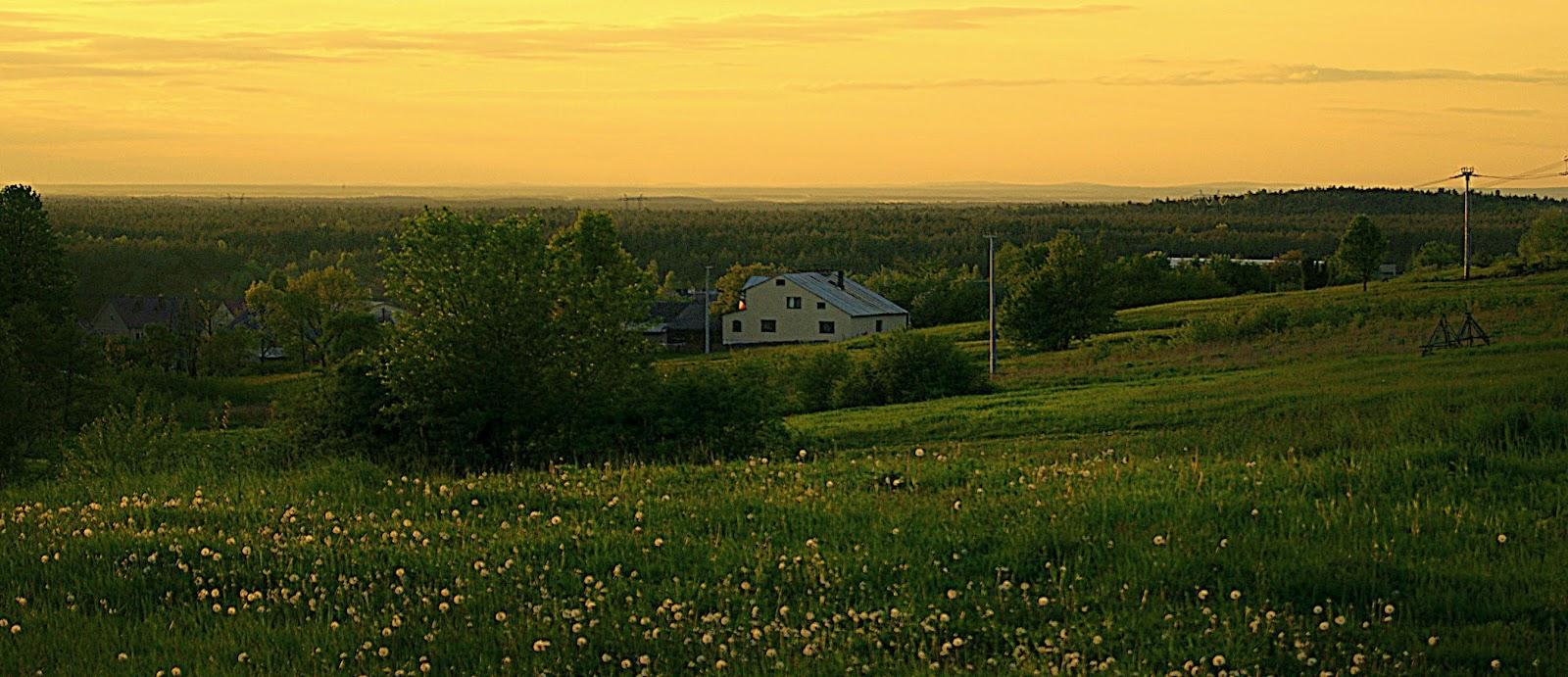 dalekie obserwacje, Góry Świętokrzyskie, powiat kolbuszowski, Przyłęk, Puszcza Sandomierska, Płaskowyż Kolbuszowski, Święty Krzyż,