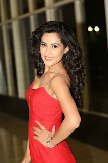 Disha Pandey Pictures in Short Dress at Ctrl C Movie Audio Launch  252861).JPG