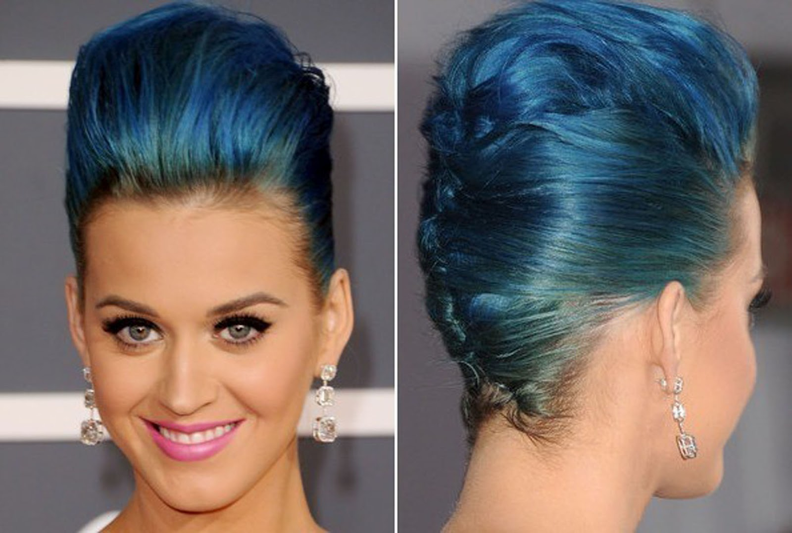 http://4.bp.blogspot.com/-P_8jnA-ziKI/UAXIJO5BdCI/AAAAAAAABU4/sKa6Wv1Wo1c/s1600/Katy-Perry-French-Twist-with-Blue-Hair-Color-as-Formal-Hairstyles.jpg