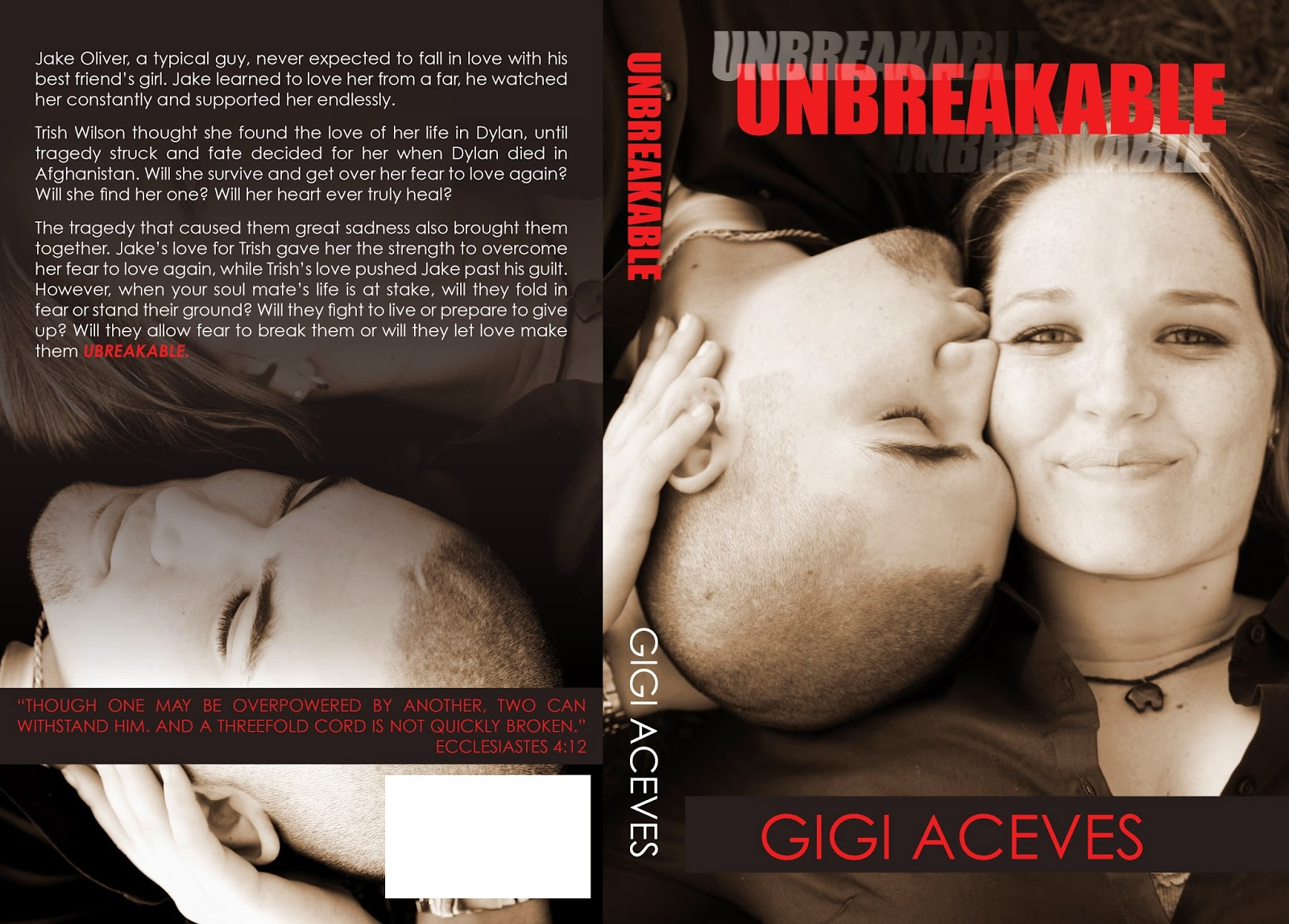 Cover reveal unbreakable able love 1 by gigi aceves