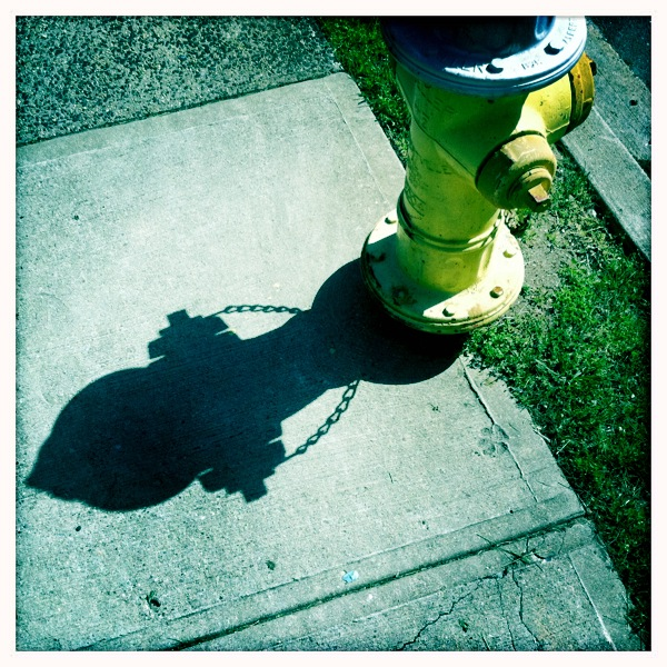 iPhone Fire Hydrant Photo