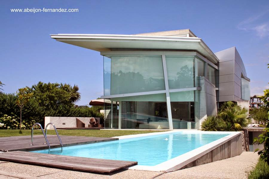 Arquitectura de casas casas modernas de estilo contempor neo for Casa contemporanea
