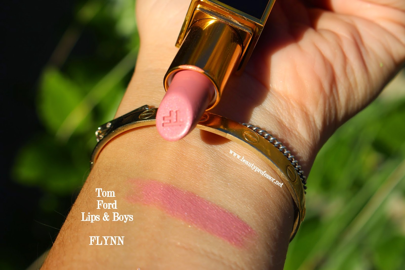 tom ford lips and boys flynn swatch