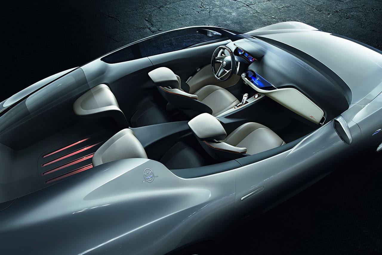 Maserati Alfieri Concept Car interior