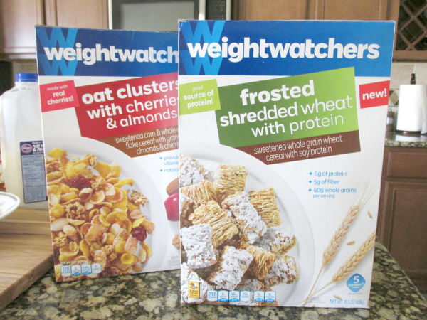 Review: weightwatchers Oat Clusters with Cherries & Almonds & Frosted Shredded Wheat with Protein