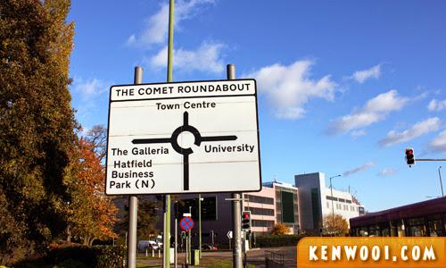 hatlfield comet roundabout