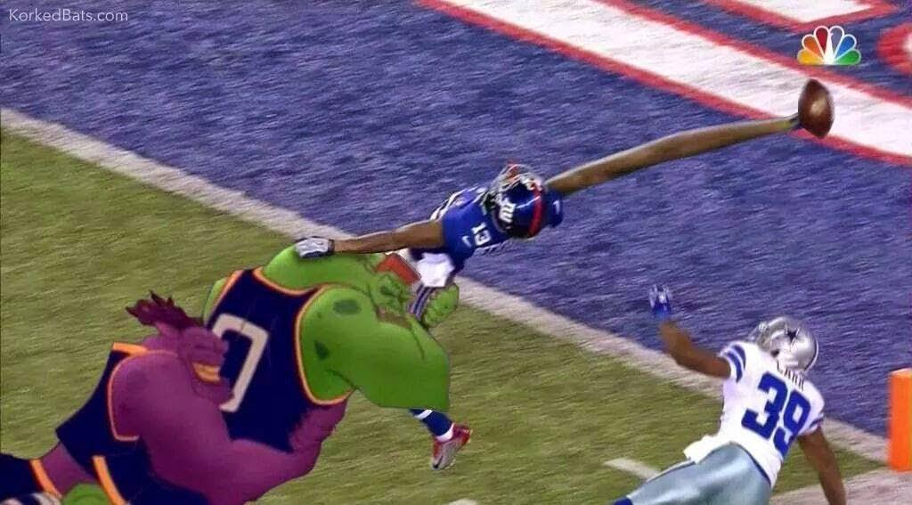 Beckham jr. Catch. #catch #SpaceJam #beckhamjr #giants #touchdown