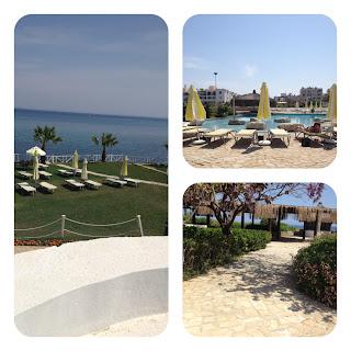 Kıbrıs Girne Jasmine Court Hotel Manzarası