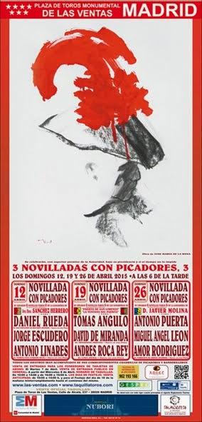 MADRID CARTEL PARA LOS DIAS 12 - 19 Y 26 DE ABRIL 2015.