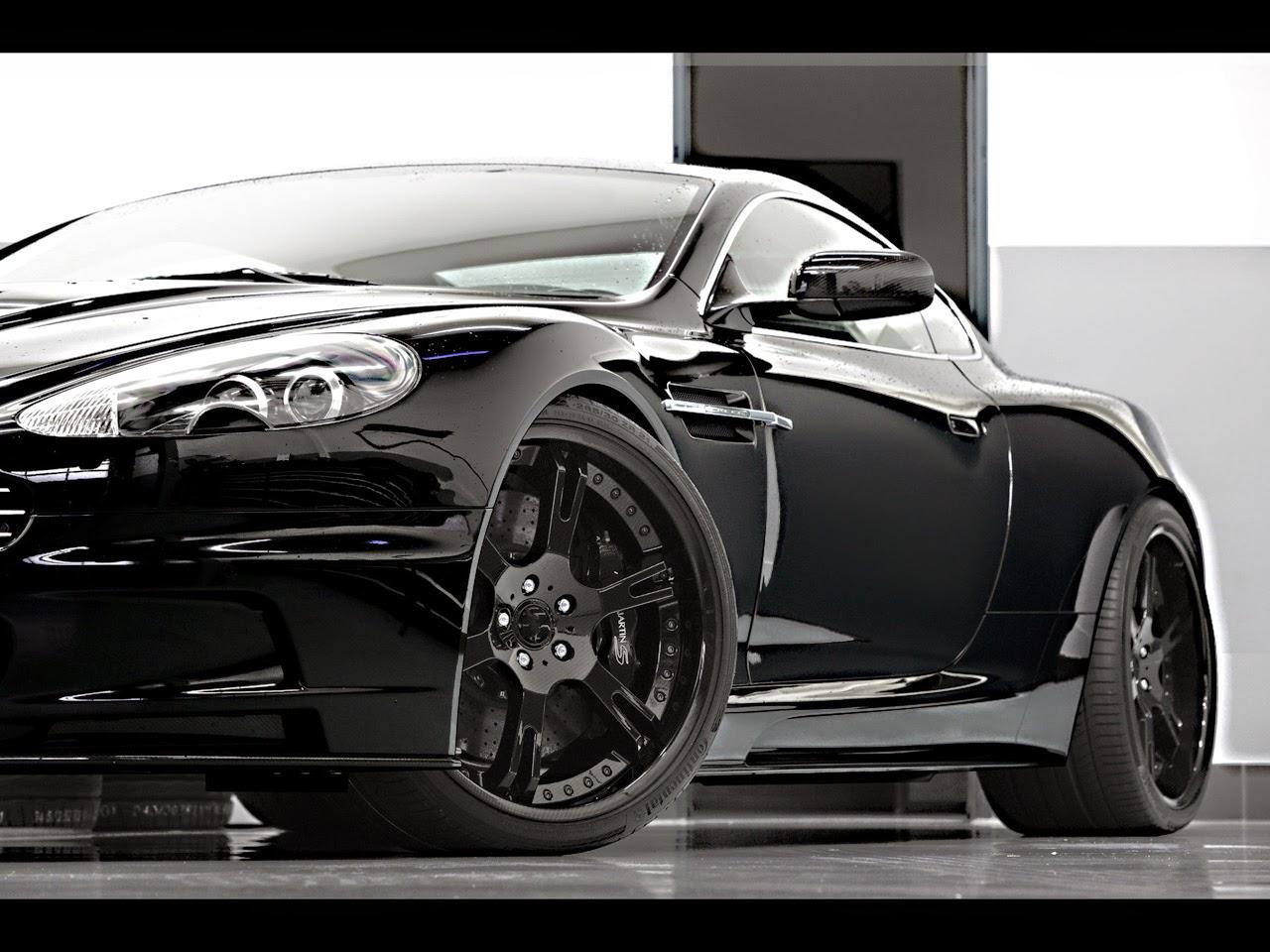 Aston Martin DBS Carbon Edition Car Wallpaper 2012