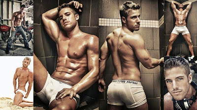 Shirtless Josey Greenwell Jock Pits Wallpaper
