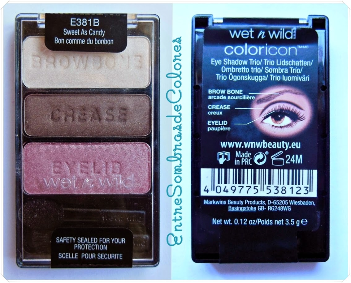 trio sombras 381B Sweet as candy Wet n Wild