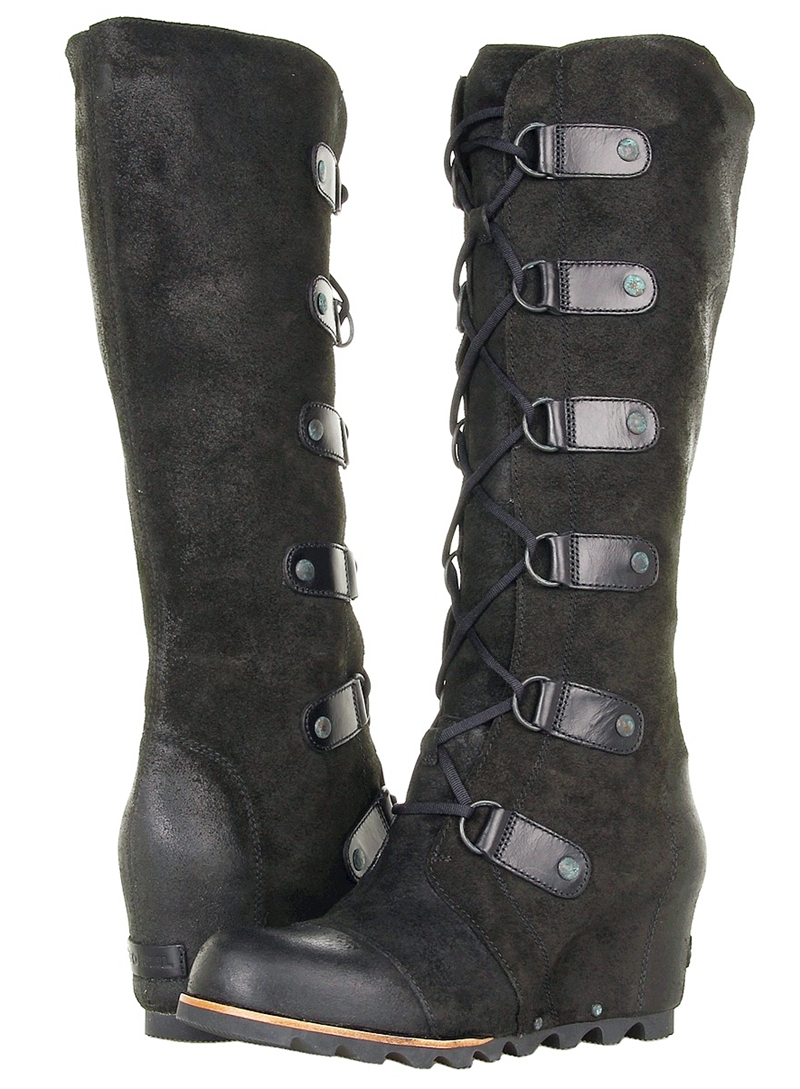 shoe of the day sorel joan of arctic wedge ltr boot