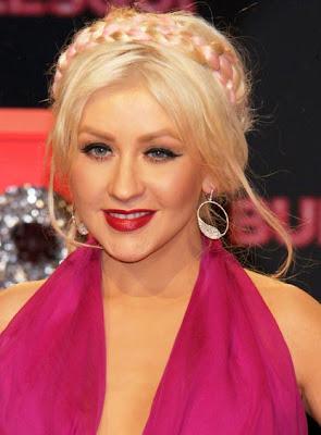 Christina Aguilera Sterling Hoop Earrings