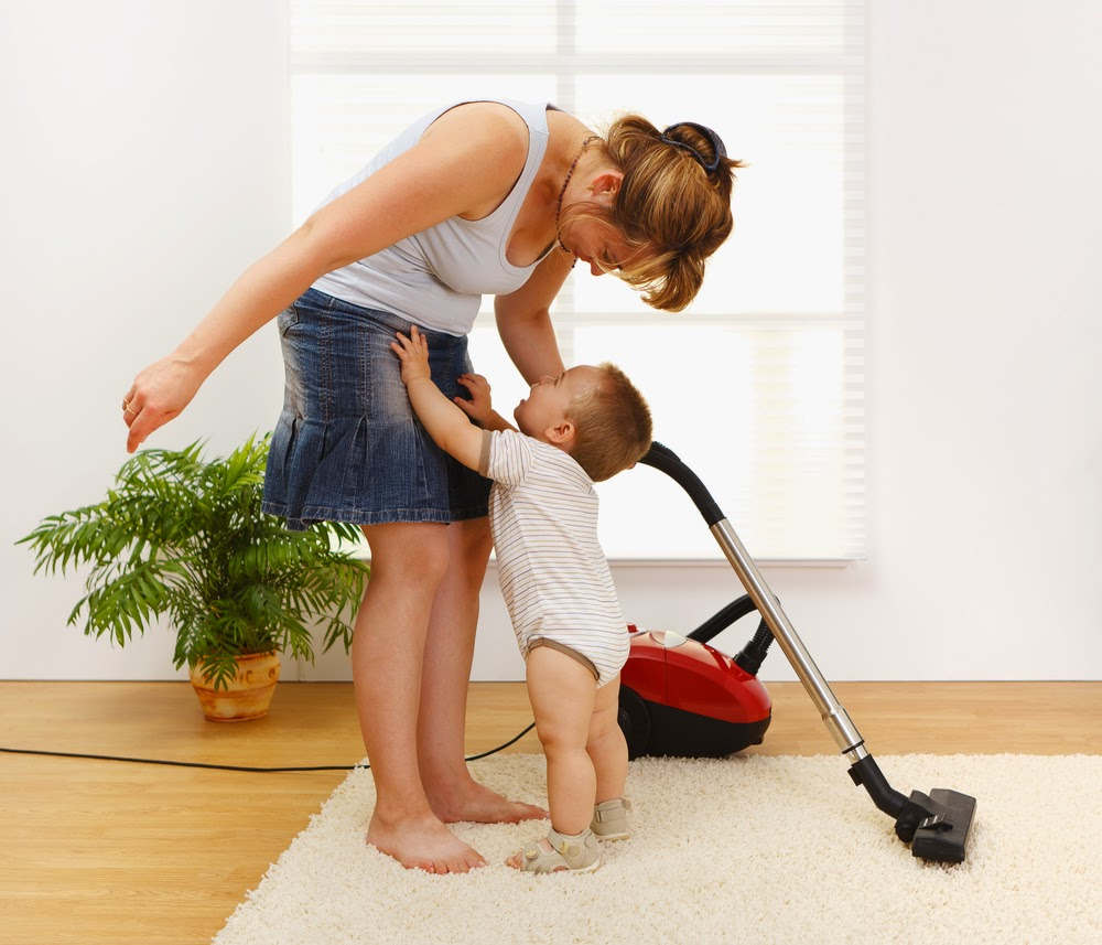 Kid friendly cleaning techniques
