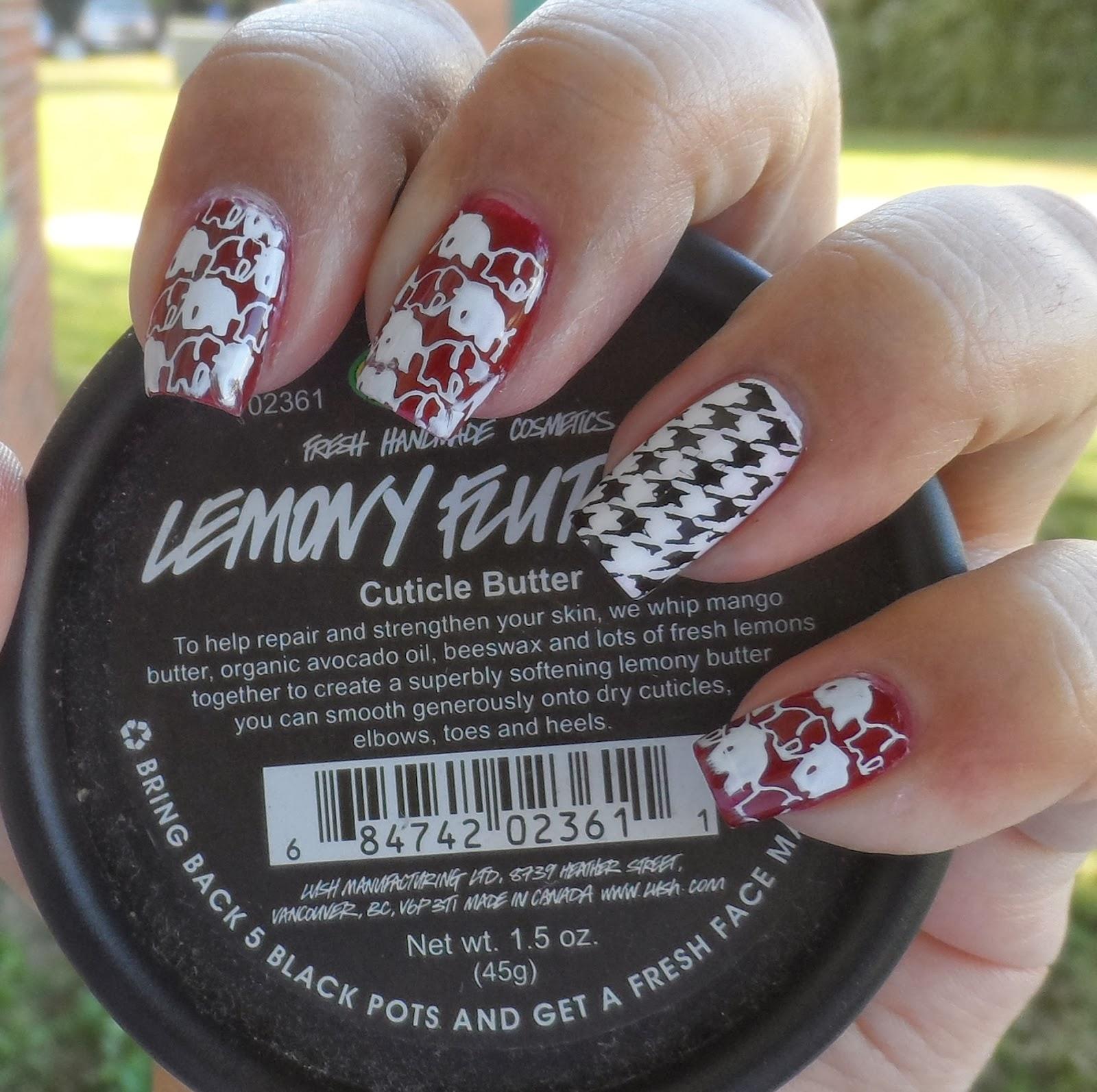 Just Me and My Nails: Alabama Crimson Tide Nails