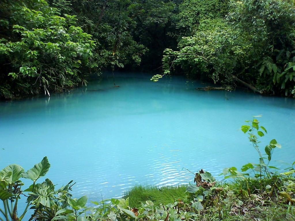 #248DA7 Cor azul turquesa Rio Celeste É um rio no Parque Nacional do  1024x768 px Banheiro Do Parque Costa Azul 3345