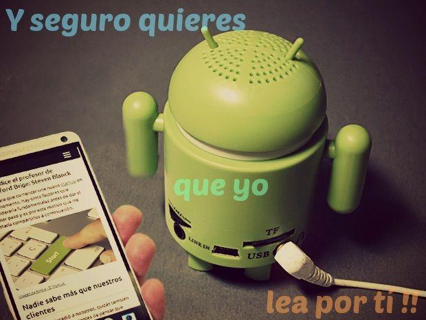 como usar Texto a Voz Android Español
