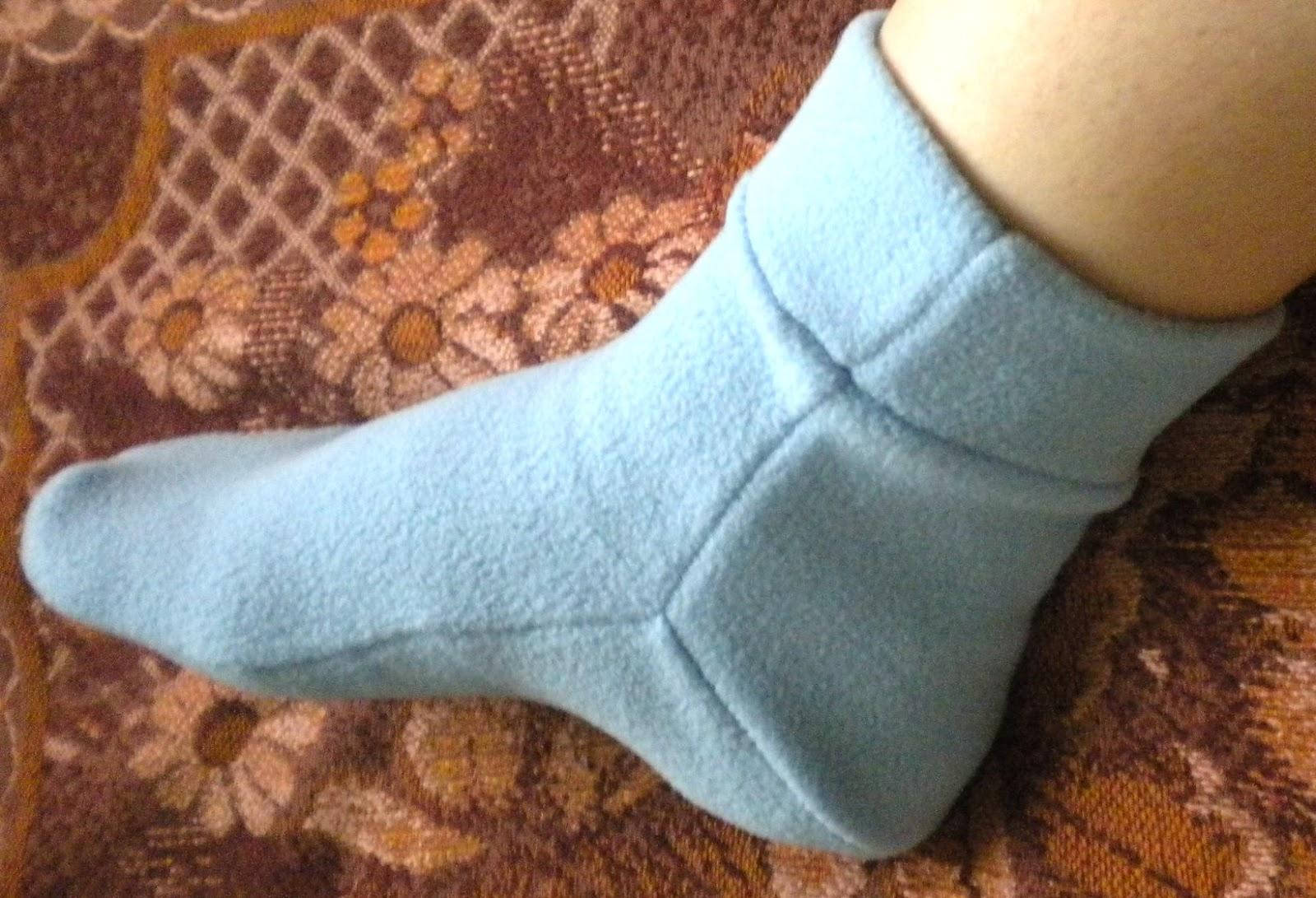 Носки своими руками из ткани