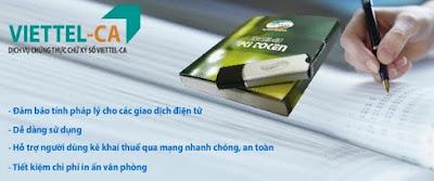Gia hạn chữ ký số Viettel giá rẻ trên toàn quốc