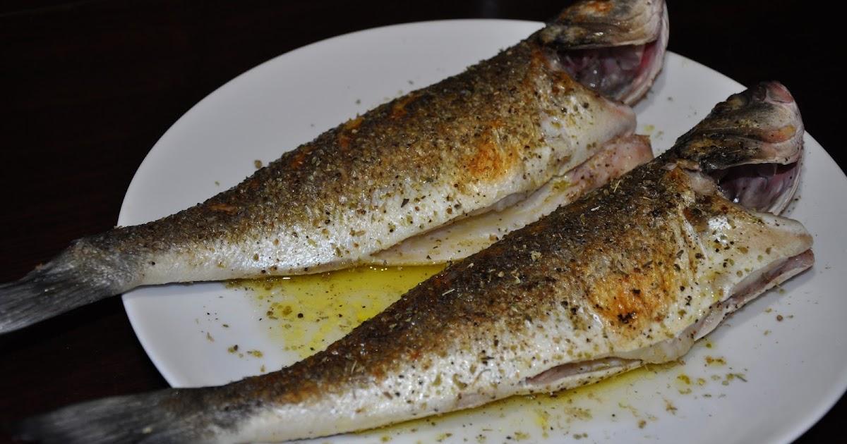 Slice of rice grilled branzino with ladolemono and for Branzino fish recipes