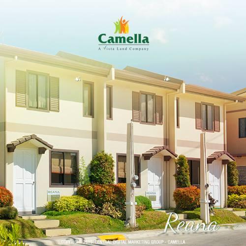 Reanna model house camella homes