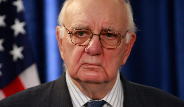 CZARS 09 Paul Volcker Top 2 Obama Dreams   2016 Obamas America