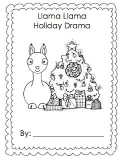 llama llama holiday drama coloring pages llama llama holiday class book simply kinder