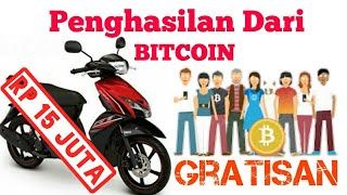 Dapat uang dari Bitcoin