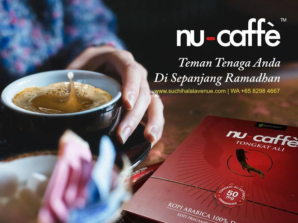 Minuman Kopi terbaik di dunia Nu-Caffe Tongkat Ali.