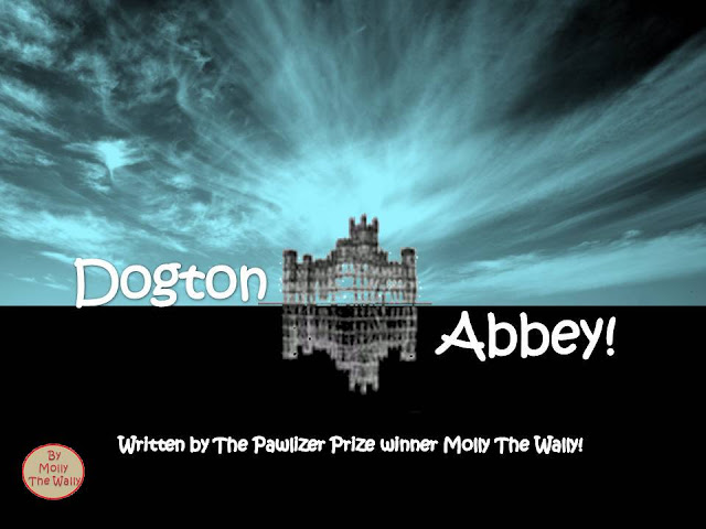 DOWNTON ABBEY? MOLLY THE WALLY DOES DOGTON ABBEY.Episode 8 pic 10