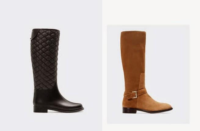 الدفء والراحة في تشكيلة أحذية زارا لشتاء 2014