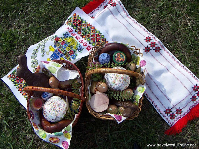 Easter Food Baskets, West Ukraine