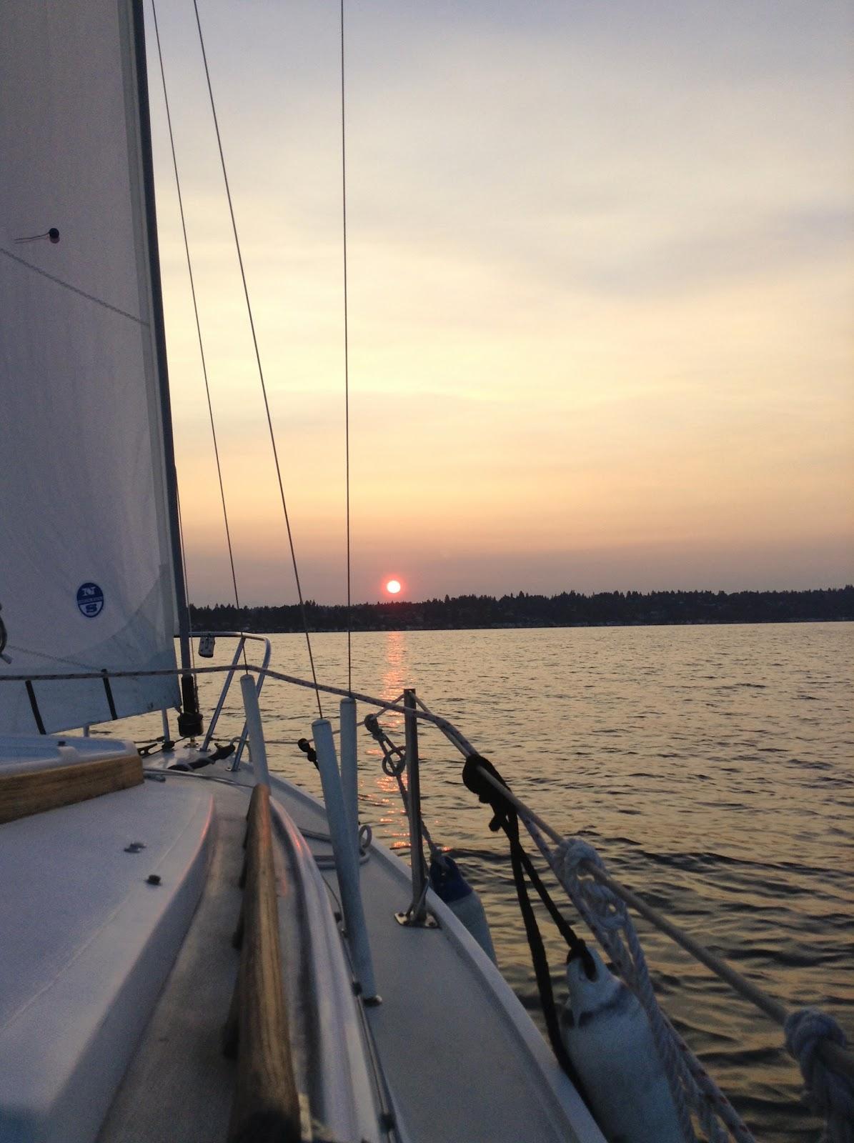 Fantasia at sunset