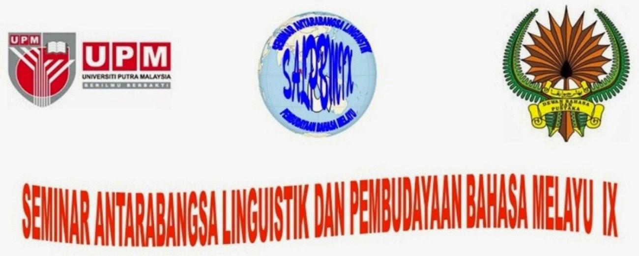 Seminar Antarabangsa Linguistik dan Pembudayaan Bahasa Melayu IX