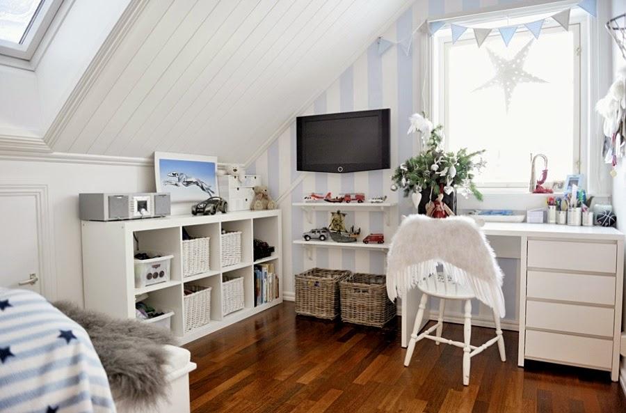 wystrój wnętrz, home decor, wnętrza, urządzanie mieszkania, scandi, nordic, styl skandynawski, święta, Boże Narodzenie, dekoracje świąteczne, białe wnętrza, pokój dziecięcy