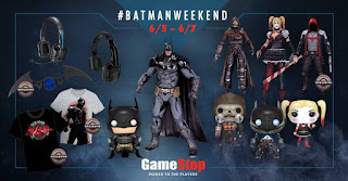 Batman Weekend Gamestop