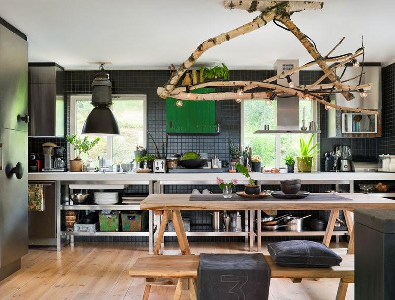 boiserie c legno nero e verde. Black Bedroom Furniture Sets. Home Design Ideas