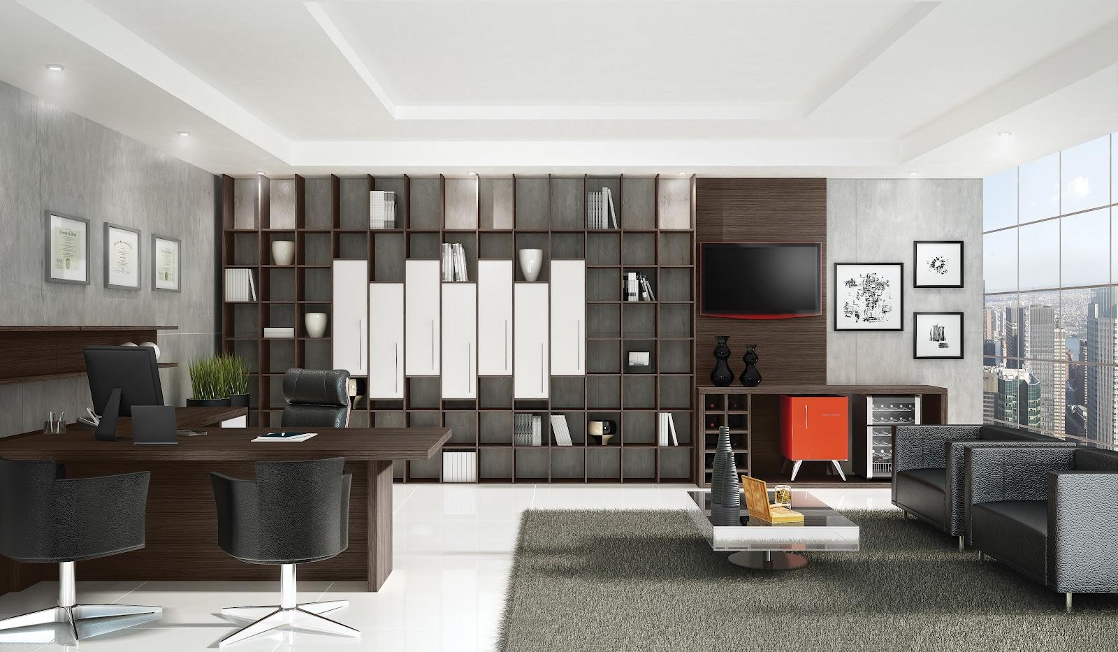 Dimare Móveis Planejados: Home office #AC391F 1600x933