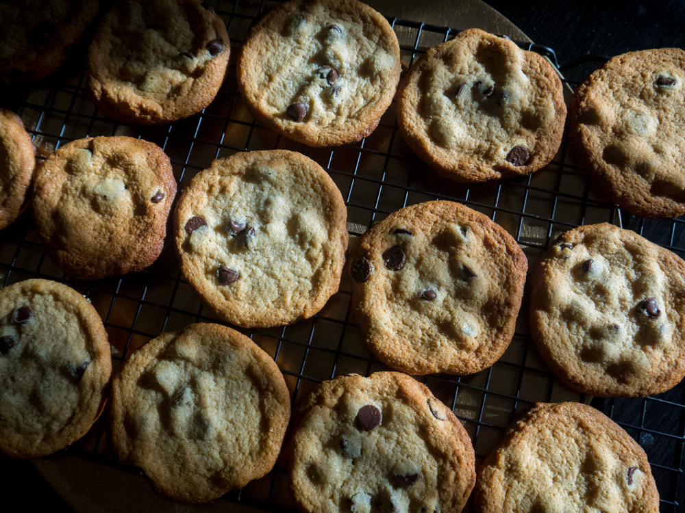 """""""Healthier"""" Chocolate Chip Cookies"""