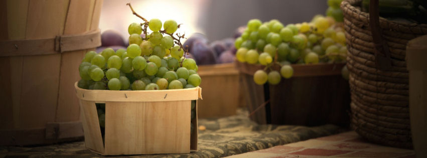 Grapes facebook cover