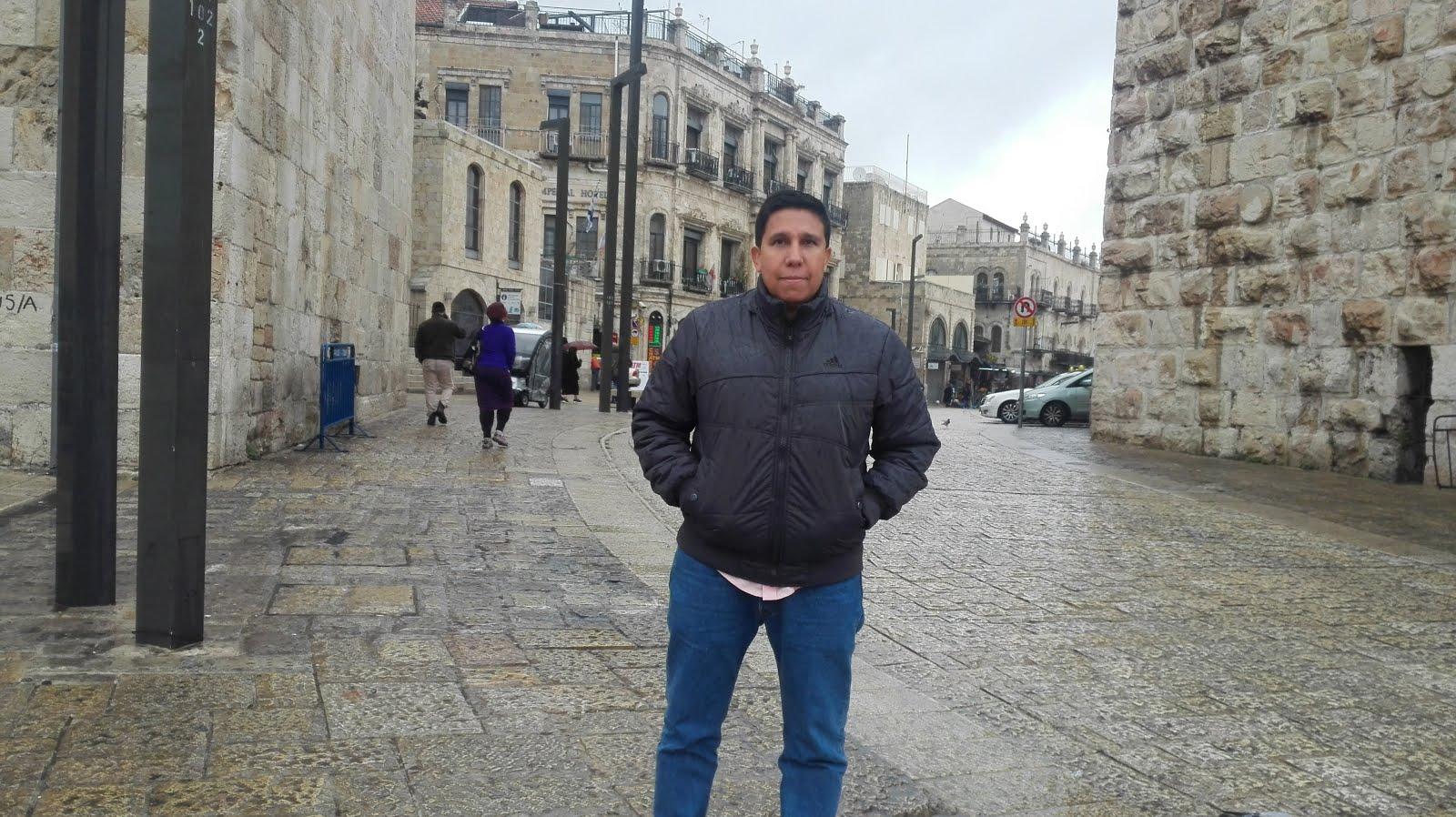 Becario en Israel