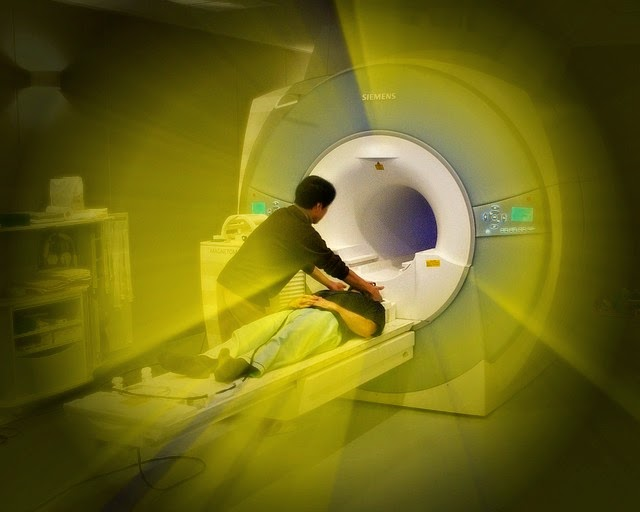 fMRI Scanner: Image by Janne Moren