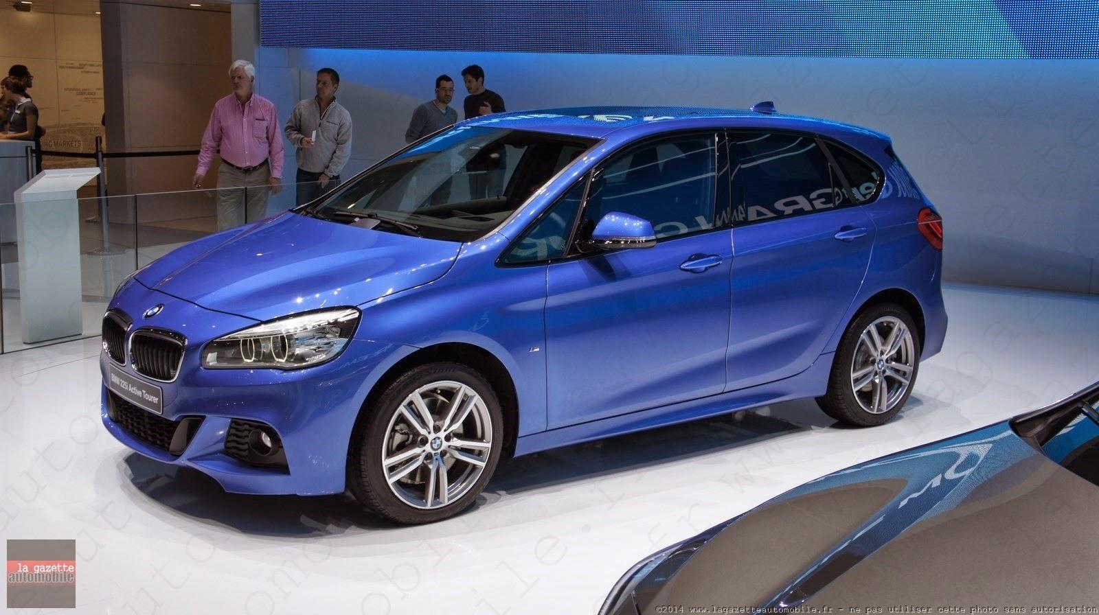 Genève : BMW Série 2 Active Tourer