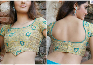 modal blouse design