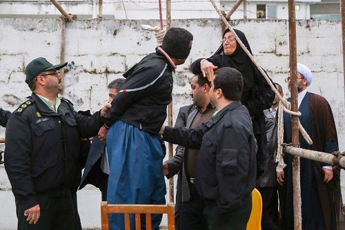 iranian killer forgiven